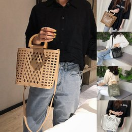 $enCountryForm.capitalKeyWord Australia - Women Handbags 2019 Famous Brands Hollow Out Beach Bag for Ladies Bolsa Feminina female tote bags PU leather shoulder bag Purses