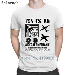 pop tees Canada - I Am An Aircraft Mechanic Shirt T Shirt Pop Top Tee Summer 2019 Character Funny Casual Plane T Shirts Gift Euro Size S-3xl