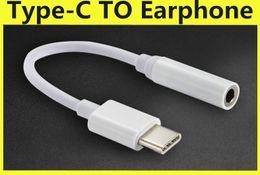Адаптер USB 3.1 Type-C к 3,5 мм для наушников Адаптер типа C Разъем USB-C между штекером и гнездом USB 3.1 Адаптер аудиокабеля для смартфона Type-C на Распродаже
