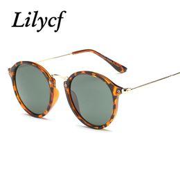 Ladies High Quality Designer Sunglasses Australia - 2019 New Round Sunglasses Ladies Retro Trend Transparent Personality Women's Brand Designer Sunglasses High Quality UV400