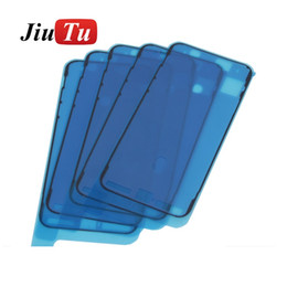 Lcd Screen Touch Fix Australia - Use For Phone Repair Refurbish Waterproof Sticker For iPhone X 10 Front Housing LCD Touch Screen Frame Repair Fix JiuTu