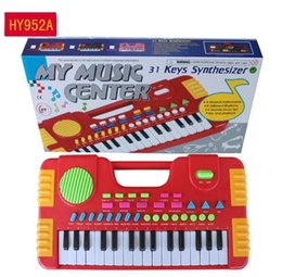 Children toys piano online shopping - 31 Keys Kids Baby Musical Toys Children Musical Portable Instrument Electronic Piano keyboard Educational Toys For Girl