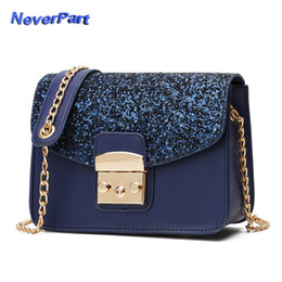 2019 new Women Shoulder Bag Female Party Sequin Messenger Bags Crossbody Bag  Ladies Handbag Chain Cash Coin Big Bags Shiny Money 182532da199c