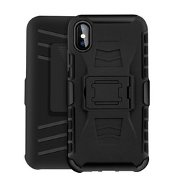 Iphone Case Clip Combo Australia - Future Armor Impact Hybrid Hard Case Cover Clip Holster Kickstand Combo Shockproof For iPhone XS MAX XR X 7 8 6S Samsung S9