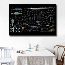 cartoon star picture Australia - Star Trek The Space Of Ships HD Wall Art Canvas Poster And Print Canvas Painting Decorative Picture For Living Room Home Decor