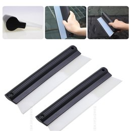 car wipers water Australia - Car Cleaning Water Squeegee Blades Soft Silicone for Windshield Window Glass Wiper Wash Ice Scrapers Snow Brushes