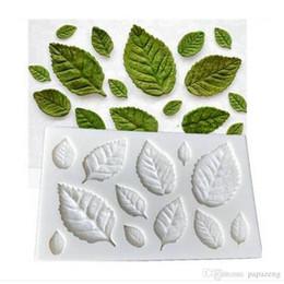 Sugar free cakeS online shopping - Leaves Fondant Silicone Mold Sugar Cake Mold Cake Decoration Tool DIY Cake