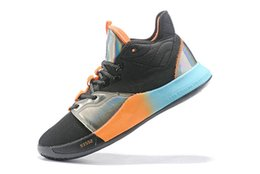 designer golf shoes UK - 2019 Hot Sale Paul George PG 3 x EP Palmdale PlayStation Mens Basketball Shoes High Quality USA Designer PG3 3s Sports Sneakers Size 40-46