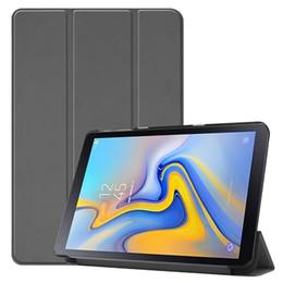 $enCountryForm.capitalKeyWord NZ - 100pcs Book Flip Cover Case for Samsung Galaxy Tab Advanced 2 SM-T583 T583 10.1 inch Tablet + Stylus Pen