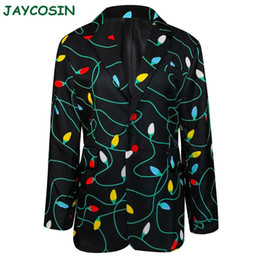 Wholesale men wedding long coat for sale - Group buy JAYCOSIN Men Clothes Winter Christmas Blazer Jackets Coats Shirt Blouse Top Fashion Long Sleeve Men Suits For Wedding