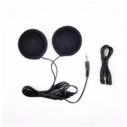 Опт 1 пара мотоциклетный шлем гарнитура наушники стерео наушники для MP3 MP4 телефон