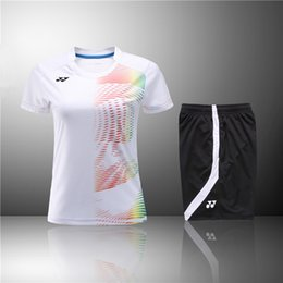 Sportswear T Shirt Badminton Australia - F6 YON EXX Badminton Suit Sportswear for Men and Women Short Sleeve T-shirt for Leisure Running Basketball casual wear Table tennis Y3032