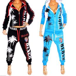 $enCountryForm.capitalKeyWord UK - Women's Fashion sexy Sports Suit Pants Hoodies Set Hooded Long Sleeve Zipper colour Sweater Sweatshirt Trousers Dynamic Loose Tracksuit Vs