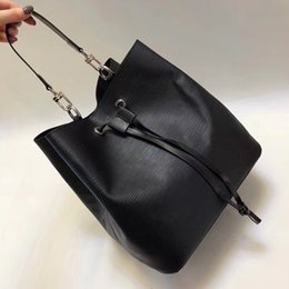 Leather Bucket Tote Bags Australia - 2019 Noenoe bucket shoulder bags handbags women famous brands fashion lockme purse female crossbody bag high quality Epi leather tote bag