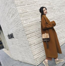$enCountryForm.capitalKeyWord NZ - 2019 autumn and winter new explosion models hot temperament wild lapel long wool woolen coat female thick woolen coat brown