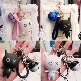 $enCountryForm.capitalKeyWord Australia - 2019 new bag hang with cartoon key ring bell hang with car key hang with!Creative cartoon key chain bag cute decoration