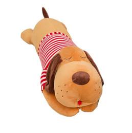 Large Toy Dolls UK - children's girls birthday gift plush pillow plush toy cute dog doll Large plush dog wholesale factory direct sales