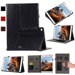 Genuine Leather China Australia - Classic Half Genuine Leather Tablet Protective Cover For Huawei M5 10.8 With Shockproof Tablet Case Protective Shell