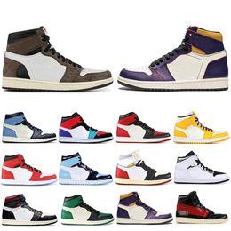 $enCountryForm.capitalKeyWord Australia - Top sale Obsidian Travis Scotts High OG GYM RED 1 Basketball shoes Spiderman UNC 1s top 3 Phantom Mens Trainers Sports Designer Sneakers