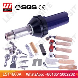 plastic water pistols UK - LST1600A Plastic hot air welding gun torch heat gun pistol vinyl pvc floor welder for PP PE water tank geomembrane sheet