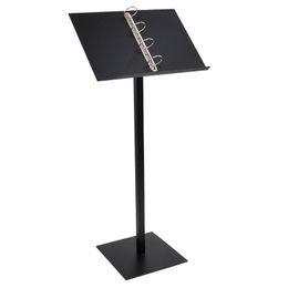 Menu Holder Stand UK - Metal Stainless Steel Landing Menu Rack Restaurant Door Menu Poster Floor Stand Vertical Literature Propaganda Display Holder
