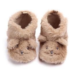 $enCountryForm.capitalKeyWord Australia - Baby Boots Winter Newborn Girls Boys Shoes Cartoon Print Infant Boots Hairy Baby Shoes Warm #SA