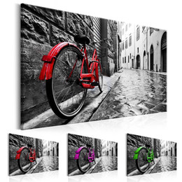 Bicycle Life Australia - Unframed 1 Panel Bicycles Canvas Print Painting Street Home Decoration Wall Pictures for Living Room Wall Art on Canvas