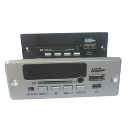 DecoDing boarD online shopping - Freeshipping DIY V V etooth MP3 Decoding Board USB sound card etooth calling decoder Module clock FLAC WAV AUX MD03