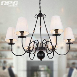 living room ceiling lamp shades NZ - Chandelier Lighting Fixtures Luminaria Led Modern Lustre Ceiling Chandeliers Shade Iron Avize Light For Bedroom Living Room Lamp