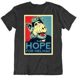 alien shirts Australia - Alf Hope For Melmac Alien Tv Show T Shirt Mens Tee Gift New From New Cool Tee Shirt