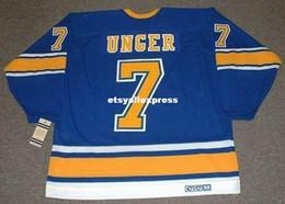 $enCountryForm.capitalKeyWord Australia - custom Mens GARRY UNGER St. Louis Blues 1972 CCM Jerseys Vintage Cheap Retro Hockey Jersey