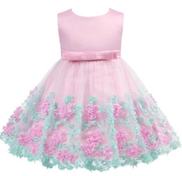 $enCountryForm.capitalKeyWord NZ - Baby Girl Dress 2019 New Princess Infant Party Dresses for Girls Summer Kids tutu Dress Baby Clothing Toddler Girl Clothes