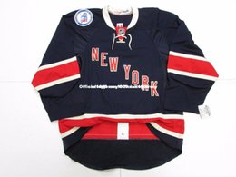 new york rangers jerseys UK - Cheap custom NEW YORK RANGERS THIRD 90th ANNIVERSARY TEAM ISSUED JERSEY stitch add any number any name Mens Hockey Jersey GOALIE CUT 5XL