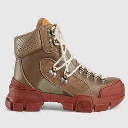 military hands UK - Flashtrek high-top sneakers Unisex Mens Casual Ankle Booties Hiking Military Boot Outdoor Womens Chunky Shoes Martin Boots Anti Skid Sne sa5