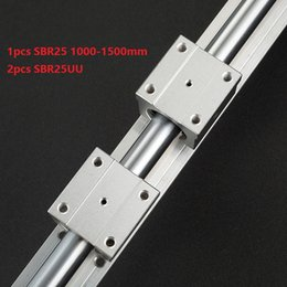 $enCountryForm.capitalKeyWord Australia - 1pcs SBR25 1000mm 1100mm 1200mm 1300mm 1400mm 1500mm support rail linear guide + 2pcs SBR25UU linear bearing blocks for cnc router