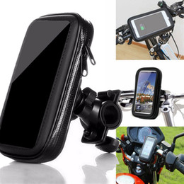 $enCountryForm.capitalKeyWord NZ - 5.5 Inch Universal Cycling Bicycle Bike Case Waterproof Head Tube Handlebar Cell Mobile Phone Bag Case Holder Pannier