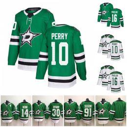 Corey perry jersey online shopping - 10 Corey Perry Joe Pavelski Dallas Stars Jersey Jamie Benn Tyler Seguin Ben Bishop Green White Stitched Hockey Jerseys