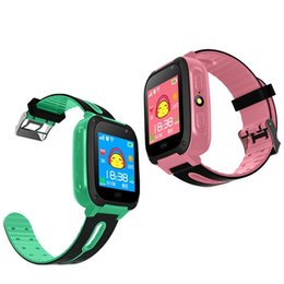 Green Watchs NZ - Hot Smart Watch For Kids Q9 Children Anti-lost Smart Watches Smartwatch LBS Tracker Watchs SOS Call For Android IOS funny gift Call Reminder