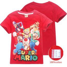 3a37d0224 8 Fotos Compra On-line Roupa super mario-Super Mario Bros Camiseta 3 Cores  4-