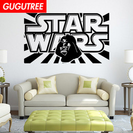 $enCountryForm.capitalKeyWord NZ - Decorate Home star cartoon wars art wall sticker decoration Decals mural painting Removable Decor Wallpaper G-2213