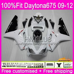 $enCountryForm.capitalKeyWord NZ - Injection For Triumph Daytona 675 09 10 11 12 Bodywork 44HM.4 White Glossy Daytona-675 Daytona675 Daytona 675 2009 2010 2011 2012 Fairing