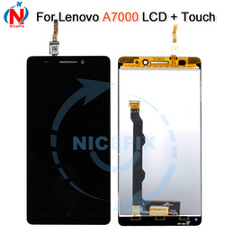 lenovo touch screen replacement Australia - 5.5'' LCD For LENOVO A7000 Display Touch Screen with Frame Digitizer for Lenovo A7000 LCD Display Screen Replacement