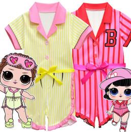 ca4adb12d24 Girls Surprise Cute romper suit summer Costume Fancy Cosplay Surprise  jumpsuit Kids Birthday Party suit LJJK1205