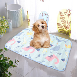 Discount train beds - Nosii Waterproof Washable Reusable Pet Dog Puppy Training Pee Pads Cooling Sleeping Cushion Pet Insulation Pad Double-Si