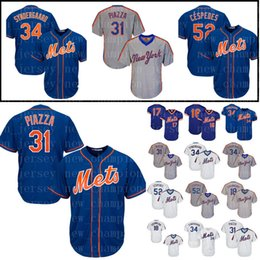 Men s New York jersey Mets 34 Noah Syndergaard 52 Cespedes Majestic 48 Jacob  deGrom 18 Darryl Strawberry 16 Dwight Gooden jerseys Cheap dd58700f3
