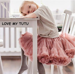 China Oklady New Baby Girls Tutu Skirt Ballerina Pettiskirt Fluffy Children Ballet Skirts For Party Dance Princess Girl Tulle clothes supplier ballerina tutus suppliers