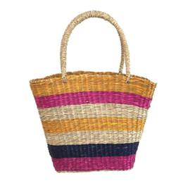 $enCountryForm.capitalKeyWord UK - Fashion Straw Striped Handbag Women Summer Beach Color Casual Boho Totes for Ladies Shopping Totes 2019 Hot Selling