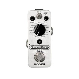 acoustic pedal NZ - Mooer Groove Loop Drum Machine and Looper Pedal in one Pedal Silver