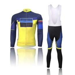$enCountryForm.capitalKeyWord Australia - Can be customized LOGO newest Long sleeve bicycle suit Cycling Jersey Men Cycling Set Racing Bicycle Clothing Suit Sport wears #1971402