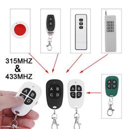 $enCountryForm.capitalKeyWord Australia - Universal 4 keys Wireless RF Remote Control Duplicator Copy 315MHz 433MHz Electric Gate Garage Door Key Switch Controller